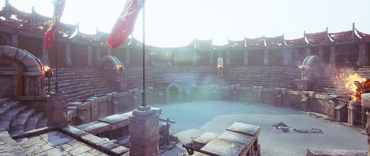Gladiator's Arena - Making of – part 1 · 3dtotal · Learn