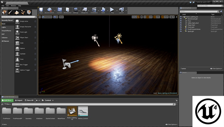 Unreal Engine Part 16: VR motion controllers · 3dtotal