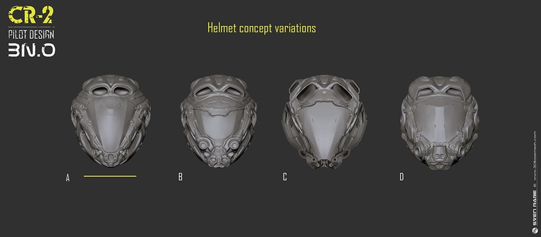 A few helmet variations