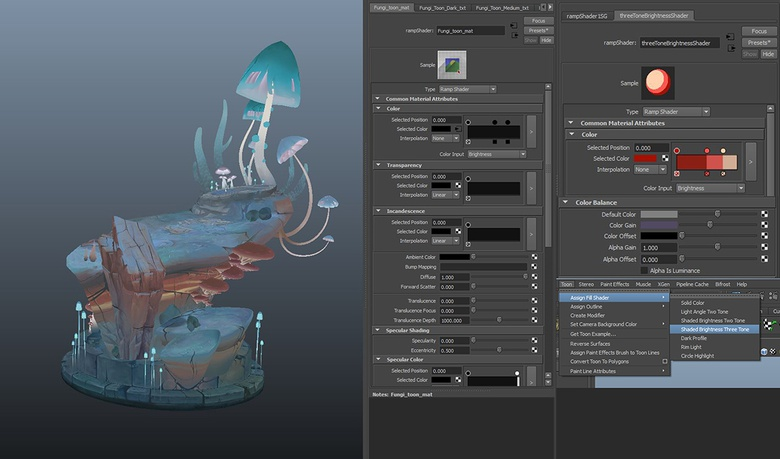 The process of nailing the right look and how to set up the shader