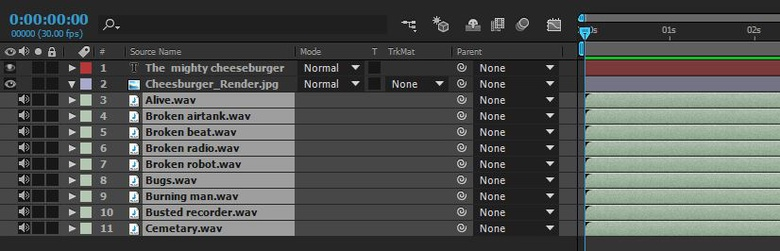 Use multiple audio clips to create a truly immersive soundscape