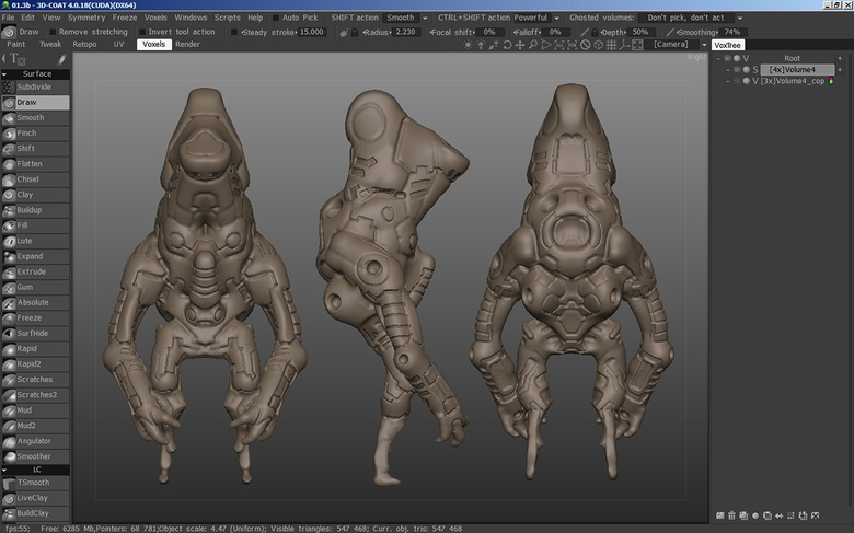 Creating sci-fi characters · 3dtotal · Learn | Create | Share