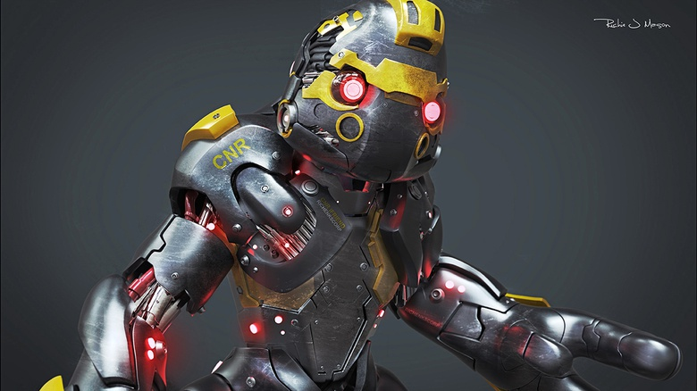 Robots in ZBrush · 3dtotal · Learn | Create | Share