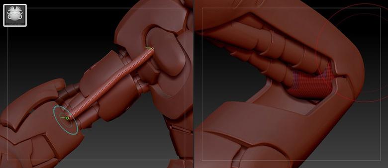 Make robotic tubing easily using Curve Tube