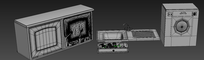 Some models have a clean topology and some are the result of decimation inside ZBrush
