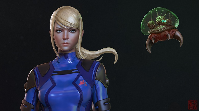 the making of zero suit samus 3dtotal learn create share