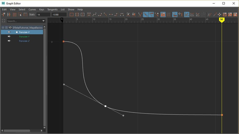 Keep in mind the properties of your object when animating it.