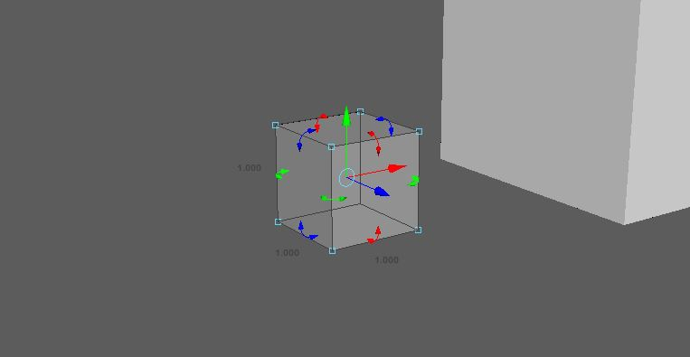 Create a cube which will be used to get a visual representation of the strength of the explosion.