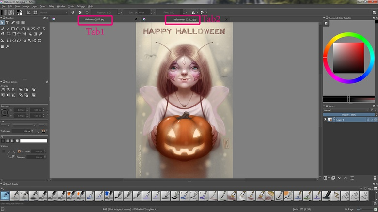 Know the Basics: Krita Part 2: Brushes, Masks and Filters · 3dtotal
