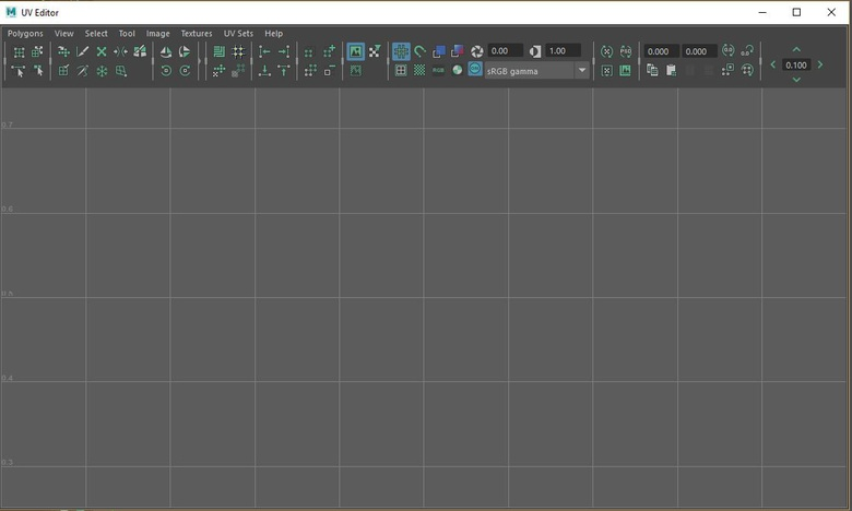 UV mapping tells Maya how to apply the material to an object.
