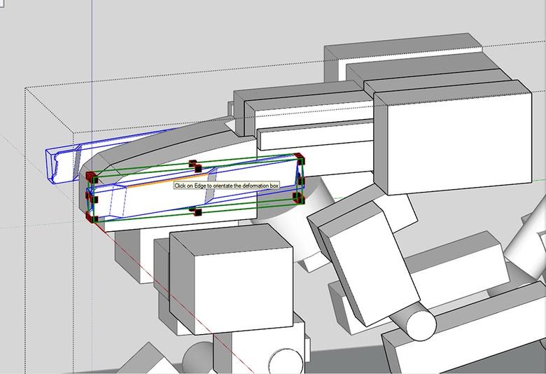 Fig.5c - Using FredoScale to make slanted areas