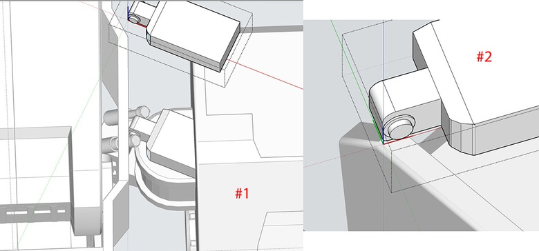 Fig.9b - Using Intersection Faces to add bevel detail