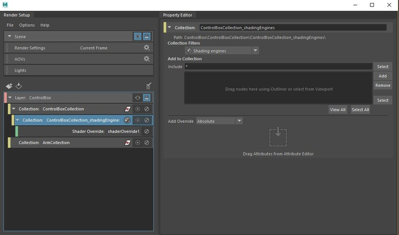 Overriding scene attributes is easy with this quick and dependable workflow.