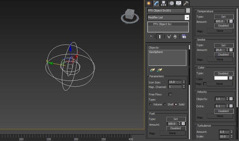 The FumeFX Object Source