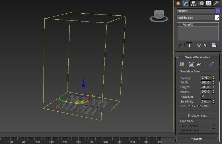 Modifying the FumeFX Container