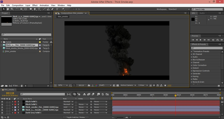 Adding final post-process tweaks in After Effects