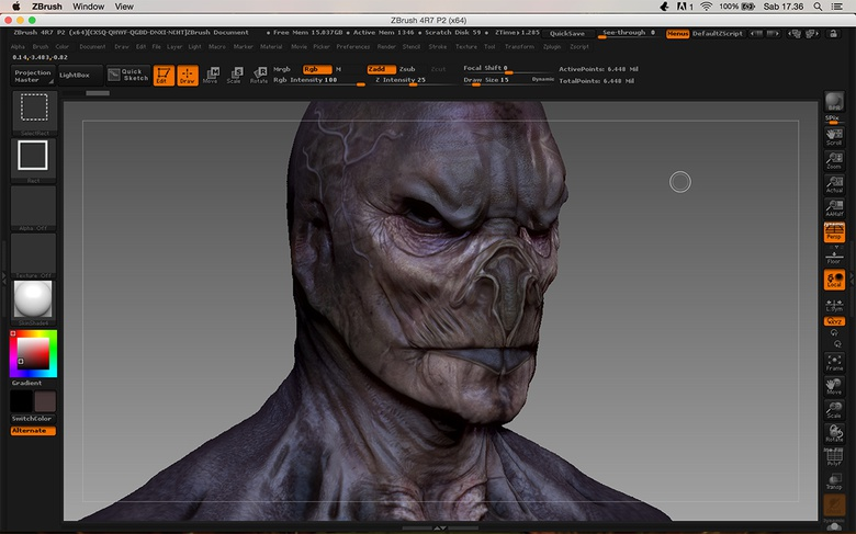 The ultra-advanced texturing stage