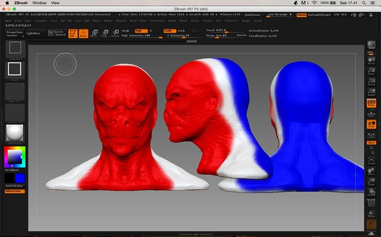 Creating UVs with ZBrush's UV Master