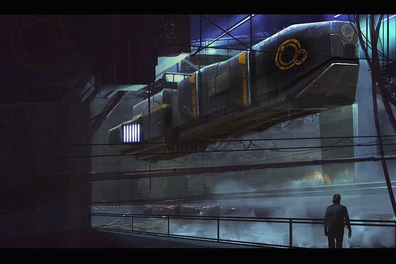 Concept art by Markus Lovadina