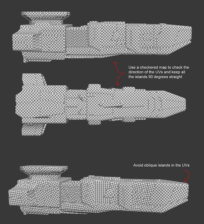 Creating textures for sci-fi spacecraft - Part 2 of 3