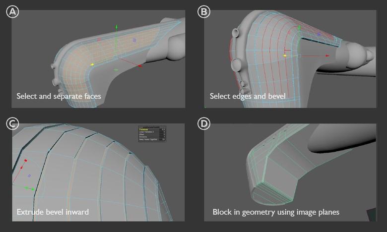 Steampunk spaceship - Part 1 - Modeling in Maya · 3dtotal