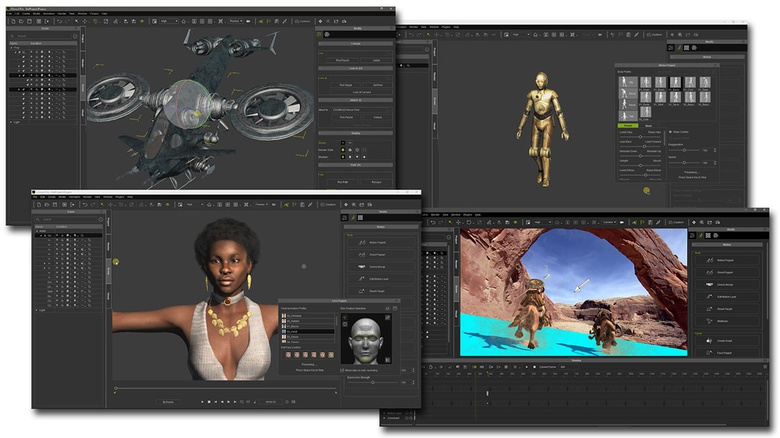 iClone is not just powerful, but is also much easier to learn and use than any other 3D animation software