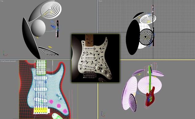Fig. 3dsmax_guitar_modeling19
