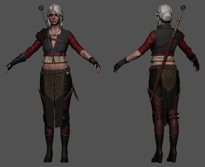 Making Of Ciri Statue 3dtotal Learn Create Share