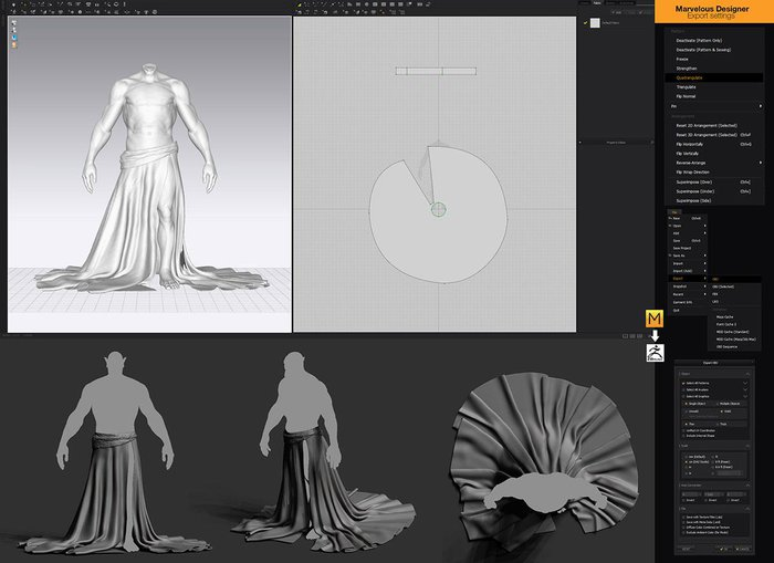 From Marvelous Designer to ZBrush