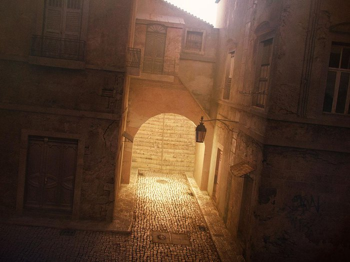 Lighting La Ruelle 3ds max & V-Ray · 3dtotal · Learn