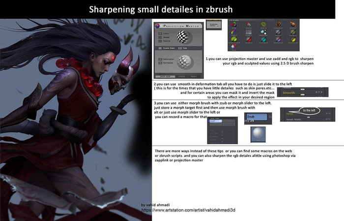 Create a female League of Legends character in ZBrush · 3dtotal