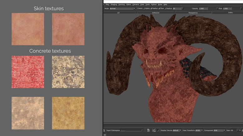Sculpt & texture a demon bust in ZBrush · 3dtotal · Learn