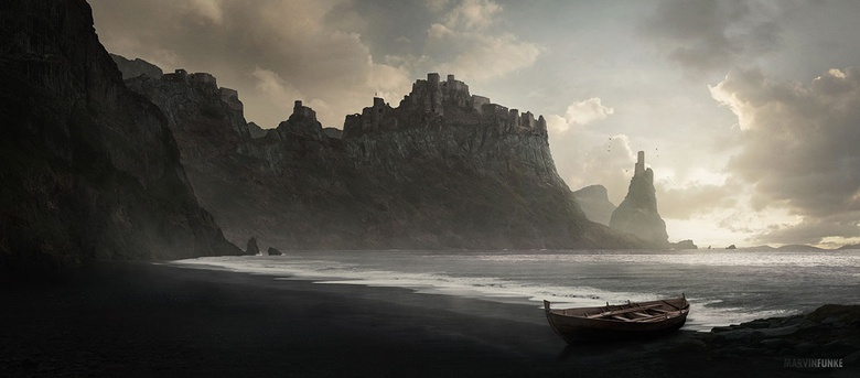 Marvin Funke - Castle on the Cliffs