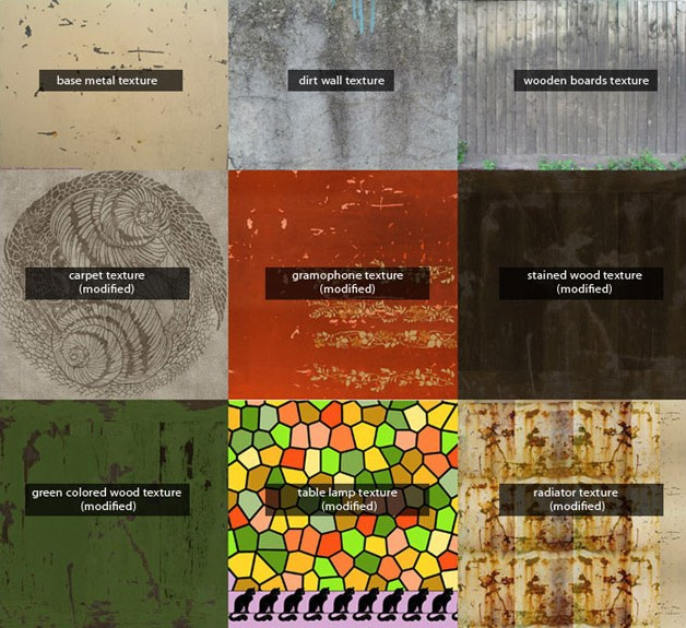 Picture 1: Texture examples