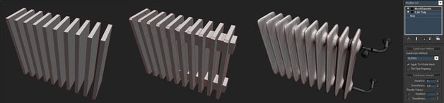 Picture 4: Process of creating the radiator