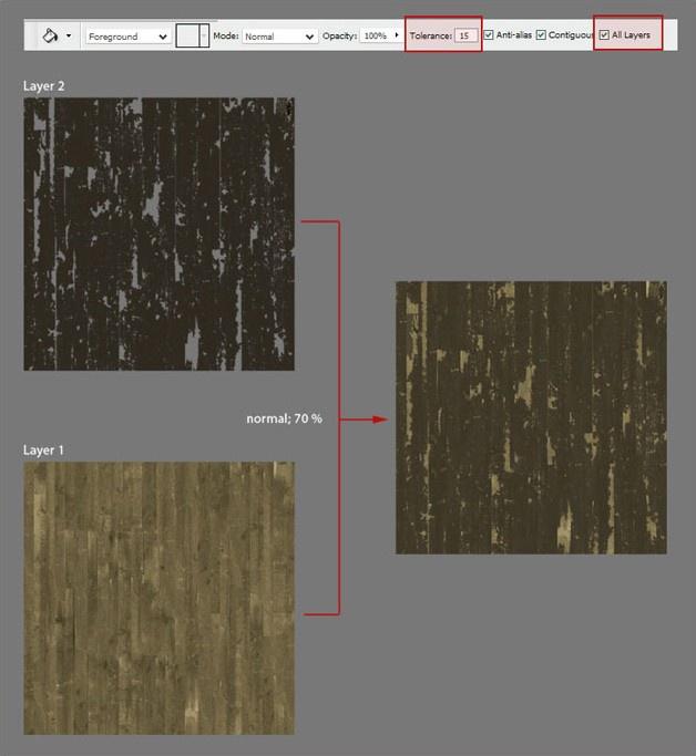 Picture 4: Wooden floor texture