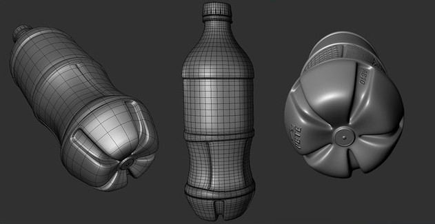 Modeling a Coca-Cola Bottle · 3dtotal · Learn | Create | Share