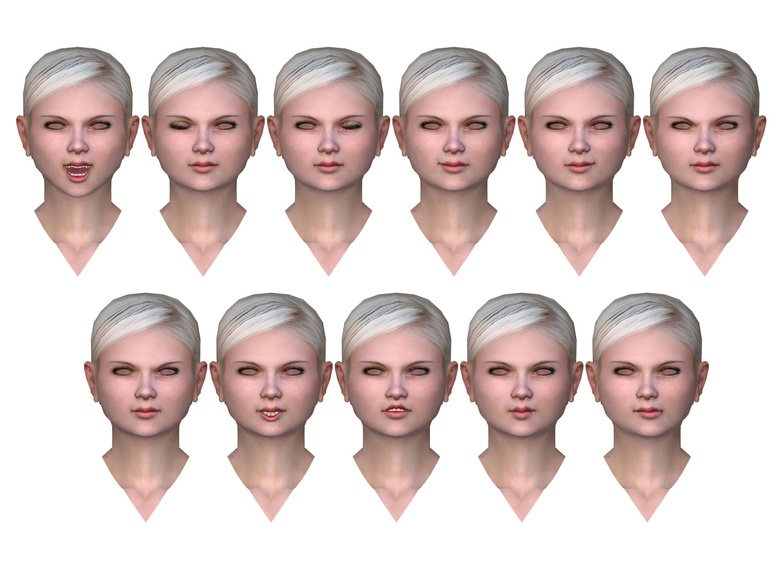 Morph Facial Animation · 3dtotal · Learn   Create   Share