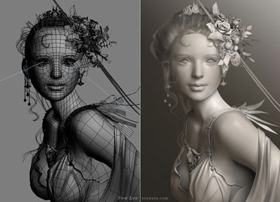 Making of 'Europa' · 3dtotal · Learn | Create | Share