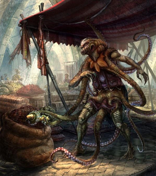 Half octopus half human - photo#35