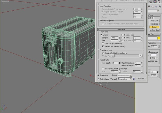 Making Of 'A Toaster' · 3dtotal · Learn | Create | Share
