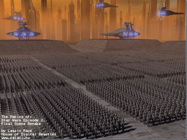 Picture #4 / Changed the layout a bit and added thousands of more soldiers