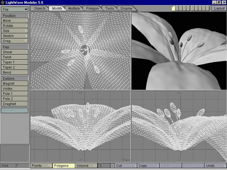 Figure 10: Adding the stamen. Click to Enlarge