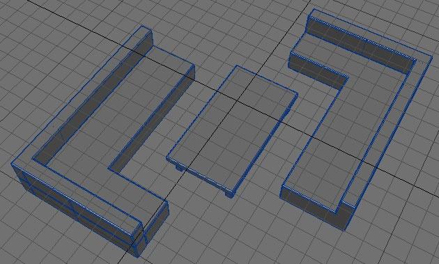 Furniture - box modelling rules