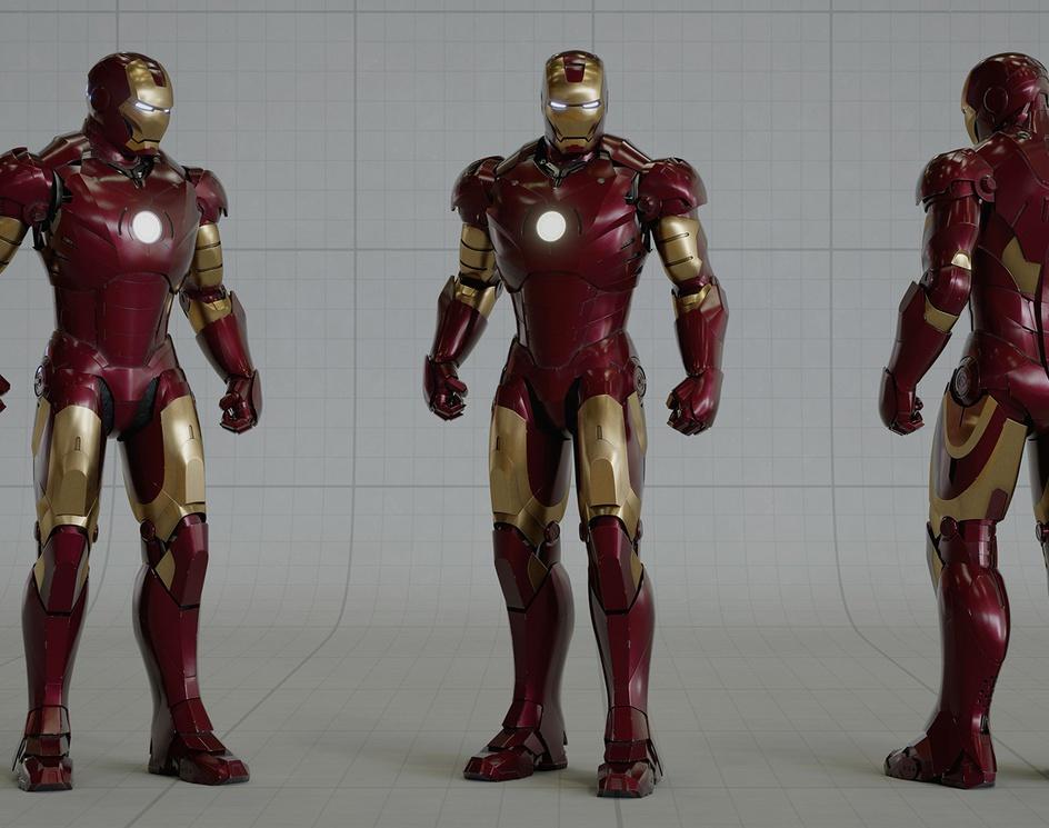 Iron Man - Mark III Look Devby DaveKW