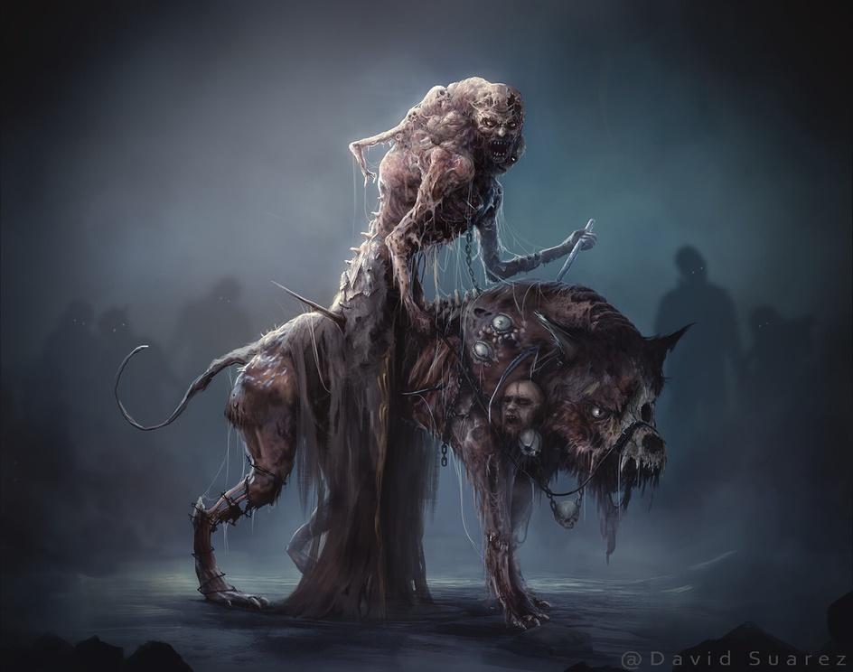 Hell-wolfby jdavidart