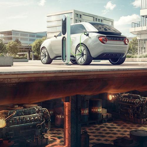 car advert model render realistic sports car