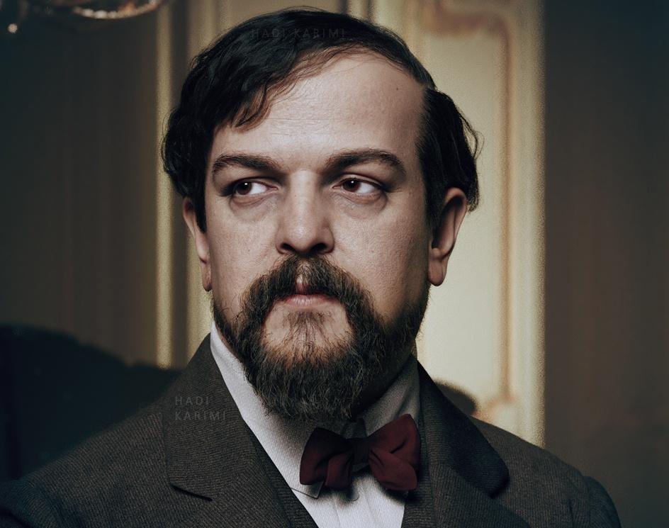 Claude Debussy (1908)by Hadi Karimi