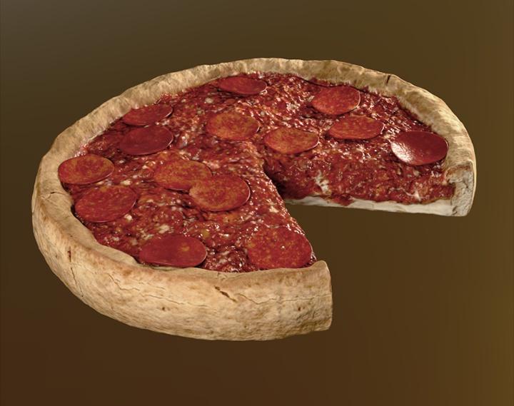 Food Series #1 - Deep Dish Pizzaby Jesus Bibian