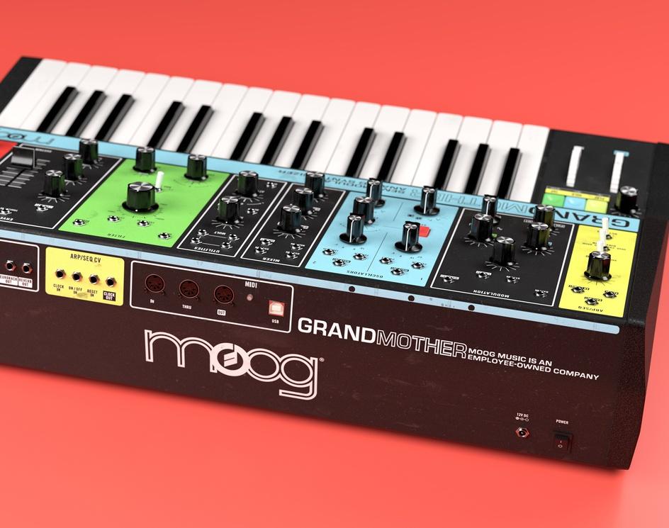 Moog GrandMotherby Thomas Deffet